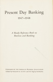 Present Day Banking 1947-1948