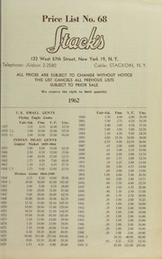 Price List No. 68