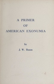 A Primer Of American Exonumia