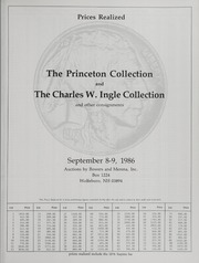 The Princeton Collection and Charles W. Ingle Collection
