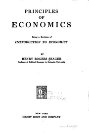 introduction of principle of economics with tar La brea tar pits introduction the la brea tar pits have been  following identify which of the economic principle(s) (see below) is at work a.