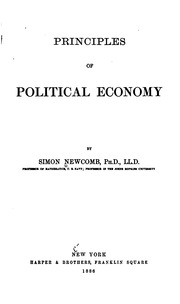 Principles of Political Economy : Wilhelm Roscher, Louis