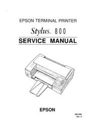 epson stylus 800 service manual free download borrow and rh archive org epson stylus photo 825 manual epson stylus photo r800 manuale d'uso