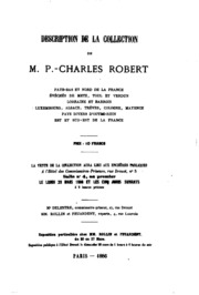 Prix de vente de la collection numismatique de m. Charles Robert du 29 mars ...