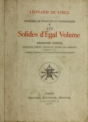 Vol 1: Problèmes de géométrie et d-hydraulique