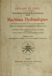 Vol 3: Problèmes de géométrie et d-hydraulique