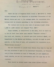 Procedure for receiving Trade dollars