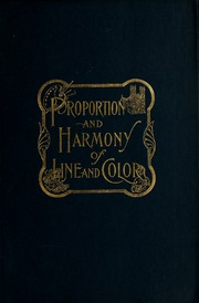 proportion and harmony of line and color in painting sculpture  proportion and harmony of line and color in painting sculpture and architecture an essay in comparative aesthetics