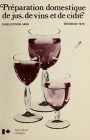 Vol 1406: Préparation domestique de jus, de vins et de cidre.