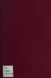 Psukè; dialogue pour le théatre en un acte et neuf scènes. Front. par Louise Danse
