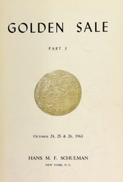 Public auction sale : golden sale of the century ... [10/24-26/1963]