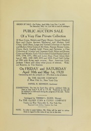 Public Auction Sale of a Very Private Collection