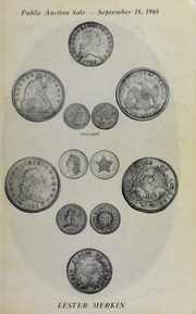 Public Auction Sale of Extraordinary United States Coins