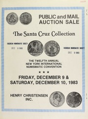 Public and mail auction sale : twelfth annual New York international numismatic convention ... [12/09-10/1983]