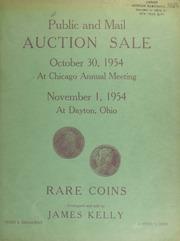 Public and mail auction sale. [10/30/1954]-[11/01/1954]