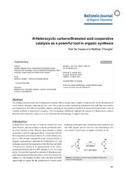 n-heterocyclic carbenes ph.d thesis Synthesis and antimicrobial properties of silver (i) n-heterocyclic carbene complexes a dissertation presented to the graduate faculty of the university of akron.