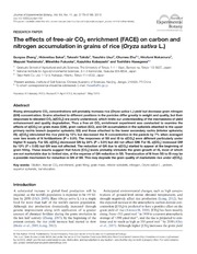 enrchment homeostasis Ph homeostasis during coral calcification in a free ocean co 2 enrichment (foce) experiment, heron island reef flat, great barrier reef lucy georgioua,b,1, james.