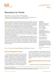 Vol 15: Biomarkers for Stroke.