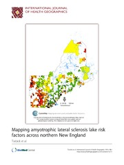 Vol 13: Mapping amyotrophic lateral sclerosis lake risk factors across northern New England.