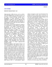 Vol 6: Leptin and Aging.