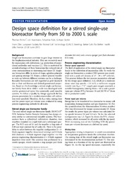 Vol 7: Design space definition for a stirred single-use bioreactor family from 50 to 2000 L scale.