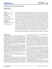 Vol 5: Aflatoxins and safe storage.
