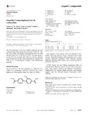 Vol 70: Dimethyl 2-nitro-biphenyl-4,4-di-carboxyl-ate.