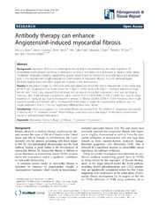 Vol 7: Antibody therapy can enhance AngiotensinII-induced myocardial fibrosis.
