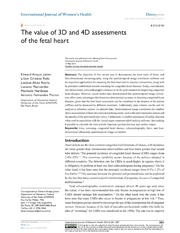Vol 6: The value of 3D and 4D assessments of the fetal heart.