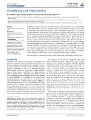 Vol 5: Glutathione and mitochondria.