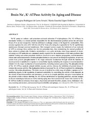 Vol 10: Brain Na , K -ATPase Activity In Aging and Disease.