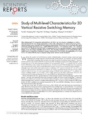 Vol 4: Study of Multi-level Characteristics for 3D Vertical Resistive Switching Memory.