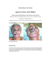 Vol 14: Aggressive Tumor of the Midface.