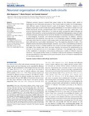 Vol 8: Neuronal organization of olfactory bulb circuits.
