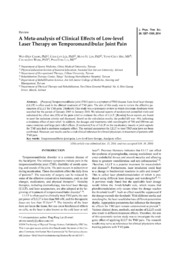 effects of massage therapy a literature review