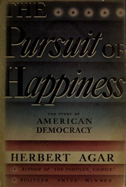 Pursuit of happiness; the story of American Democracy