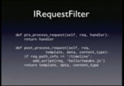 Image from PyCon 2009: Hands on with Trac plugins (Part 2 of 2)