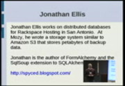 Image from PyCon 2009: Introduction to SQLAlchemy (Part 1 of 3)