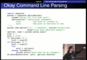 Image from PyCon 2009: Plenary: Afternoon Lightning Talks