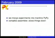 Image from Keynote: State of PyPy