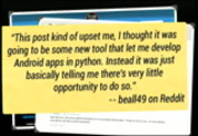 Image from The Quest for the Pocket-Sized Python