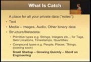 Image from MongoDB + Pylons at Catch.com: Scalable Web Apps with Python and NoSQL