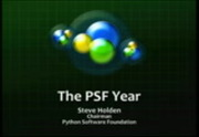 Image from Python Software Foundation Chairman Address