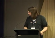 Image from PyConAU 2010: Lightning talks - Sunday