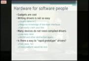 Image from PyGotham 2011: Go Go Gadget Python