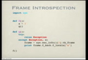 Image from PyOhio 2010: PyPy and Unladen Swallow: Making your Python Fast