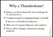 Image from Django Package Thunderdome: Is Your Package Worthy?