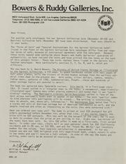 Q. David Bowers Correspondence, 1970 to 2010