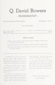 Q. David Bowers, Numismatist, Bulletin 2