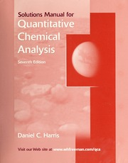 Solutions manual for harris quantitative chemical analysis seventh solutions manual for harris quantitative chemical analysis seventh edition harris daniel c 1948 free download borrow and streaming internet fandeluxe Image collections